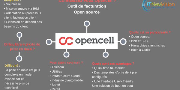 IT-NewVision | Qu'est ce qu'Opencell ?